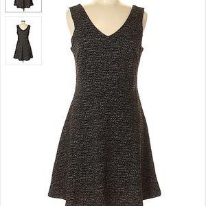 Katherine Barclay Marled Grey Dress